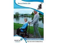 Rascal WeGo 250 (assisted controlled wheel chair)