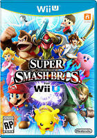 Wii U Super Smash Bros Game - Excellent Condition