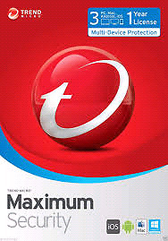 Trend Micro™ 11 (2017) | 3 Devices | 1 Year License | Antivirus