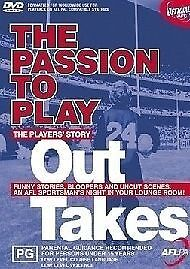 The Passion To Play - Outtakes (DVD, 2003)