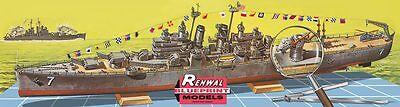 Revell Renwal USS Springfield 1/500 ship model kit new 602