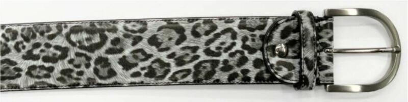Tailored Sportsman Grey Leopard Belt