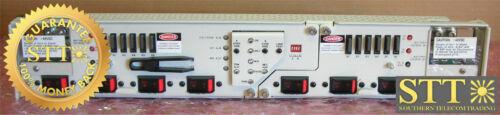 16183-10+70 Telect Fuse Panel/pdu, 3kw Mod Dual 4cb 4 Fuse, Alarm, Bat Mon New