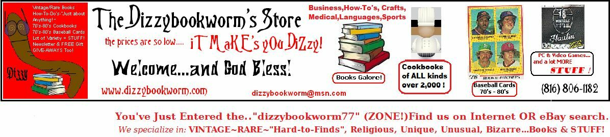 The Dizzybookworm77 Store