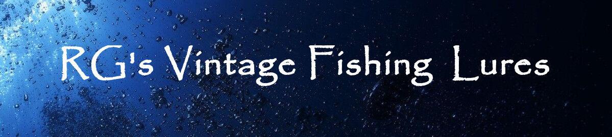 RG's Vintage Fishing Lures