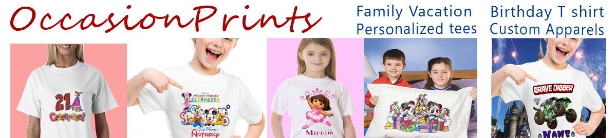 apparels Family Vacations t shirts
