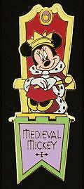 Disney-Auctions-Medieval-Characters-Minnie-LE-100-HTF-Pin