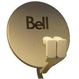 Brand New Bell HD dish + Two Output LNB's