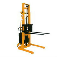 Forklift / Straddle Stacker - Demo Unit For Sale by a charity