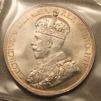 Rare high grade Uncirculated 1936 Canada Dollar ICCS MS-64
