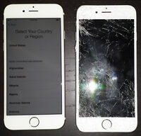 iPod iPad 2 3 4 iPhone 4S 5 5S LCD Glass Broken Galaxy Repair