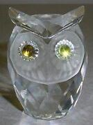 Swarovski Crystal Animals Owl