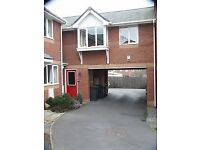 1 bed modern coach house/flat. Desirable area of Stapleton. No agency Solar Panels. 2 parking spaces