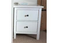 Chest of 2 drawers HEMNES White