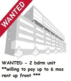 2 bdrm unit in Burlington-Will pay up to 6 MONTHS RENT UP FRONT*