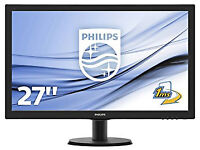 Philips V-Line 273V5LHSB 27 inch Full HD Widescreen Monitor