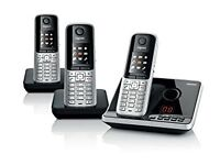 Gigaset Cordless Three Telephone Set in excellent condition