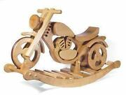 Schaukelpferd Motorrad
