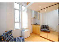 A self-contained studio perfect for a single occupant located only moments from Camden Town
