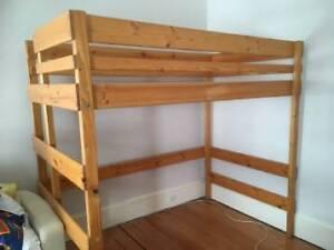 'Bunkers' king single loft bed Ashfield Ashfield Area Preview
