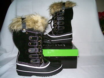Buy snow boots winter recreation - Bucco Capensis Krista Fur Winter Snow Boots Women Size 8.5 Black