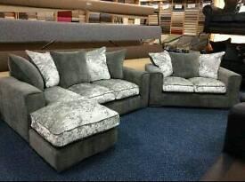 Sofas crush velvet