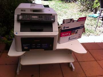 Brother Photocopier and table