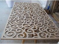 CNC Router Service - Wood & Acrylic - Simple and Cost Effective