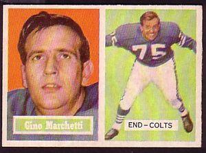 1957-TOPPS-GINO-MARCHETTI-CARD-NO-5-NEAR-MINT
