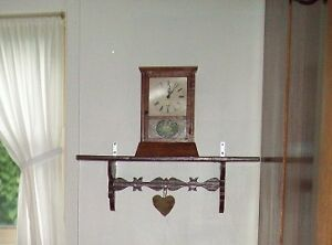 ANTIQUE SETH THOMAS CLOCK NEW WORKINGS AND FACE