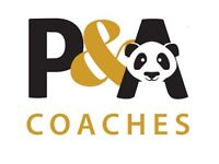 PANDA COACHES PSV Drivers Wanted Full Time/ Part Time Attractive pay package