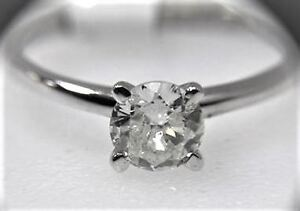 DIAMOND SOLITAIRE ENGAGEMENT RING ( 1.03 CARAT ) w/ APPRAISAL