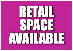 Retail Space for Rent/Lease
