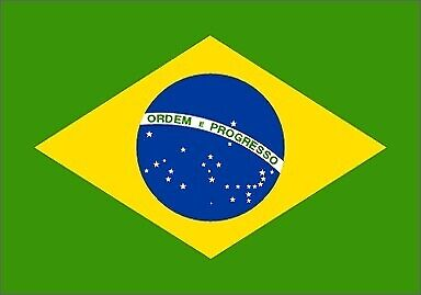OUTBOUND Flag Of Brazil 5x3