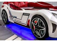 GTS Car Bed With LED lights and sounds
