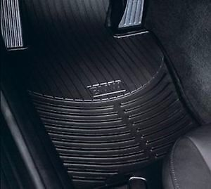 - BMW E83 X3 2003-2010 SERIES OEM BLACK RUBBER MATS - FRONT & REAR