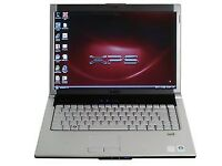Dell xps Core2 Duo 2.16Ghz 3GB 160GB DVD WINDOWS 7 Laptop