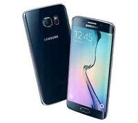 Fido/Rogers Samsung Galaxy S6 Edge 64gb Black perfect condition