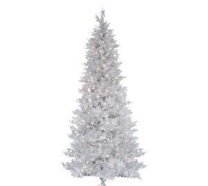 Silver Christmas Tree | eBay
