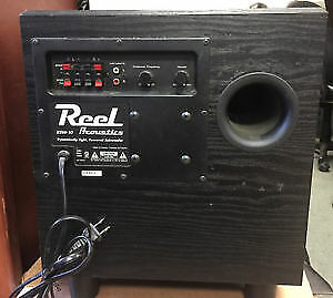 Reel RSW10150 Subwoofer excellent shape. Very powerful.