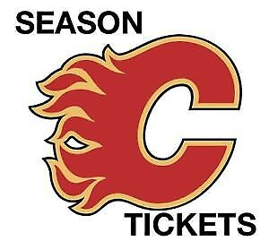 FLAMES SEASON TICKETS SHARE, TWO CLUB SEATS, COVERED. PARKING