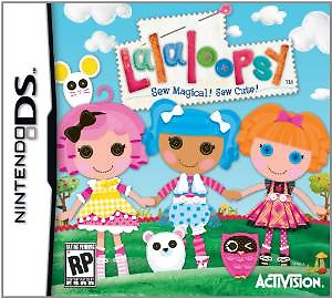 Nintendo Game: Lalaloopsy Sew Magic! Sew Cute!