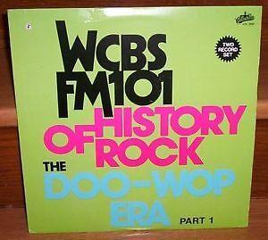 WCBS DOO-WOP 50s ROCK 2 LP RECORD ALBUM SET mint oldies 24 HITS Kitchener / Waterloo Kitchener Area image 1