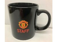 Man Utd Staff Mug The Best Football Club In The World Rare Ceramic Cup