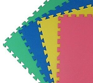 24 multicolor play mats