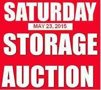 Saturday May 23, 2015 ~ STORAGE AUCTION ~ A-1 Storage Systems