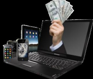 Buying Broken Laptop or Tablet for CASH