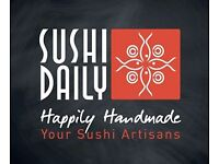 Sushi Trainee & food testing wanted ....