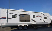 Jayco G2 31RKS 2011 33' travel trailer, excellent condition