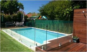 Fence and railing Tempered Glass panels 12mm (1/2'' thick)